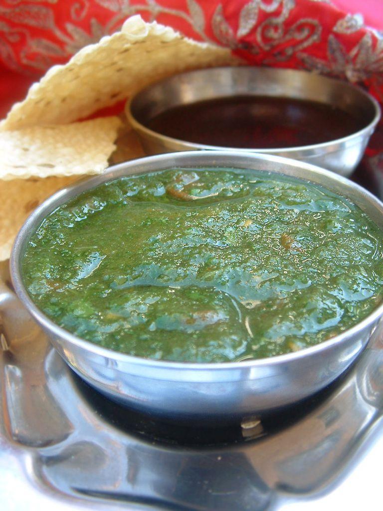 Recette sauces indiennes